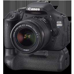 Canon 600D side bg