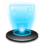 My pictures Hologram Icon