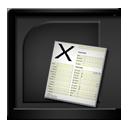 Black MicrosoftExcel-128