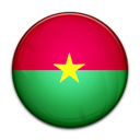 Flag of Burkina Faso-128