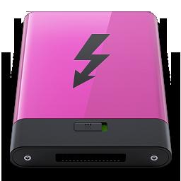 HDD Pink Thunderbolt B