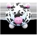 White Cow Black Spots-128