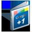 Google Plus One Book icon