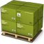 Green Boxes icon