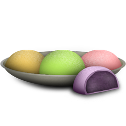 Mochi Icon Download Japanese Food Icons Iconspedia