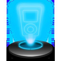 Music player Hologram