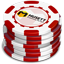 Red Casino Chips icon