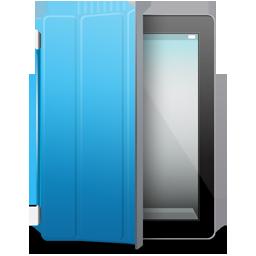 iPad 2 black blue cover
