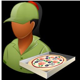 Pizzadeliveryman Female Dark