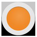 Orange Circle-128