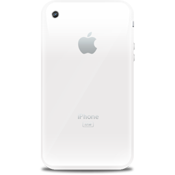 iPhone retro white