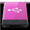 HDD Pink USB W-128