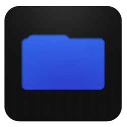 Folder blueberry