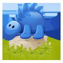 Dino blue-128