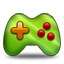 Games green icon