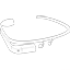 Google Glass sketch icon