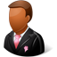 Wedding Groomsman Dark Icon