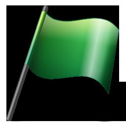 Flag2 green