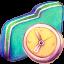 In Progress Green Folder icon
