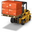 Forklift Boxes Icon