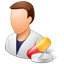 Pharmacist Male Light icon