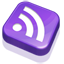 Rss Purple Icon