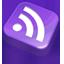 Rss Purple icon