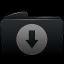 Folder black download-128