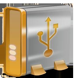 USB orange