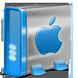 Mac HD blue