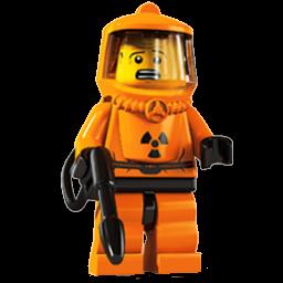 Lego Radioactive Suit