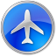 Airport Blue icon