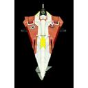 Jedi Star Fighter Star Wars-128