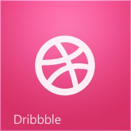Windows 8 Dribbble