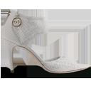 Chanel White Shoe-128