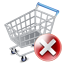 Shopcart Exclude Icon