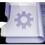 Purple smart icon