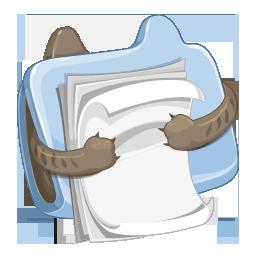Funny Doccument Folder