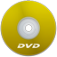 DVD Yellow icon