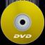 DVD Yellow icon
