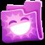 Creature Pink Folder icon