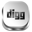 Digg silver button