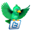 Twitter green news Icon