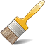 Yellow Paintbrush icon