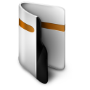 Folder orange-128
