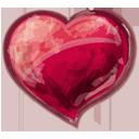 Herz rot-128