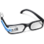 Blue Google Glasses icon