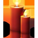 Christmas Candle-128