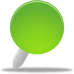 Pin green