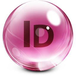 Adobe InDesign Glass
